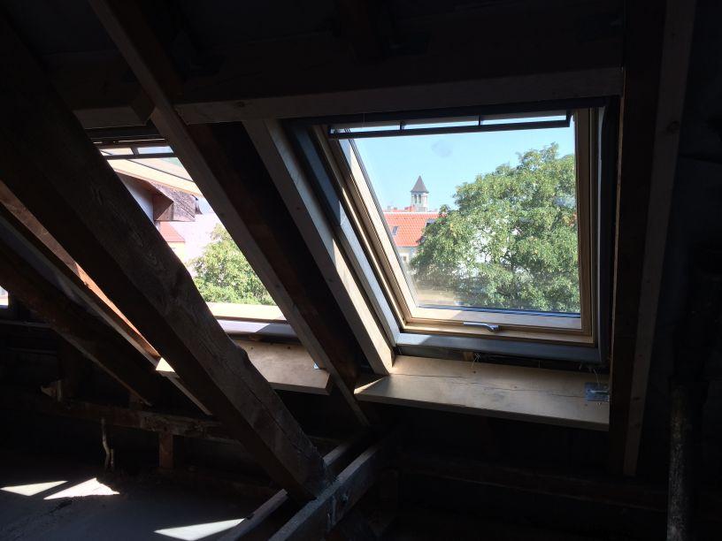 Dach Neue Fenster 3